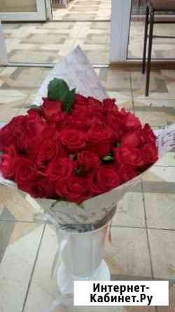 Букет из 35 роз 50см (Мирна) Доставка цветов Ставрополь