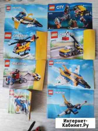 Lego City, Creator(большой короб) Тверь
