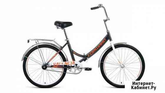 Велосипед Forward Valencia 1.0 d-24 1х1 (2020) 16 Кемерово
