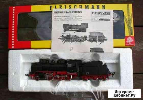 Паровоз fleischmann BR24 074 Новосибирск