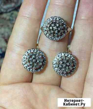 Комплект с бриллиантами 585 проба Махачкала