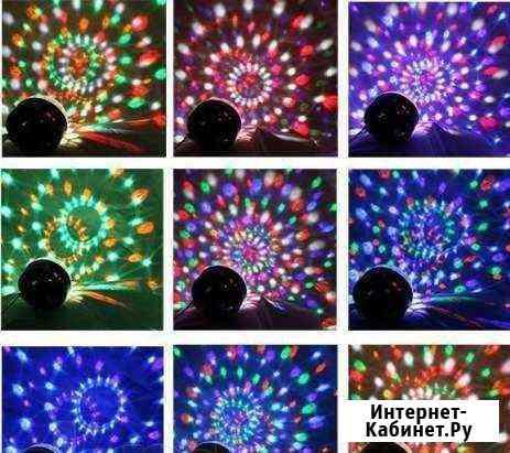 Диско-Сфера Светящаяся Магия (6 цветов) Орёл