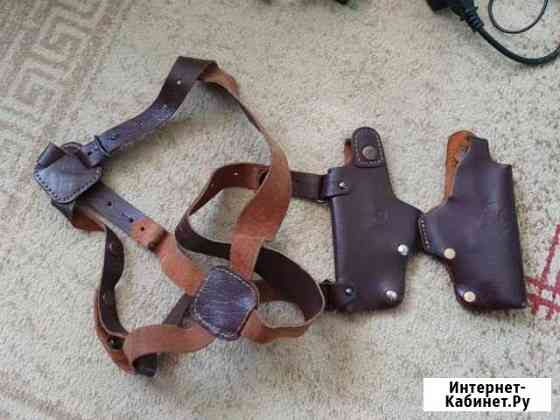 Кобура кожаная с тиснением для пистолета Хорхе 1С Магнитогорск
