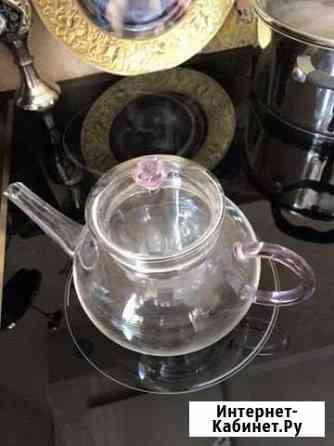 Заварной чайник стеклянный объём 1 литр Ростов-на-Дону