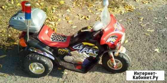 Электро мотоцикл детский Ишим