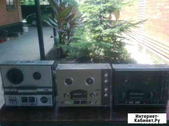 Катушечные магнитофоны Понежукай