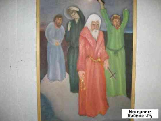 Картина 70Х40 на фанере без рамы Санкт-Петербург