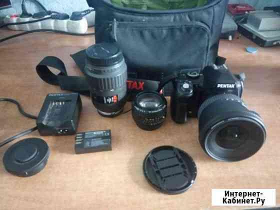 Фотоаппарат Pentax K-r + набор объективов Новосибирск