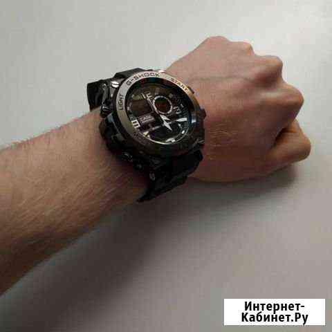 Часы Casio G-Shock Protection Black Москва