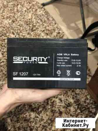 Аккумулятор security sf 1207 12v Йошкар-Ола