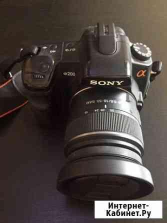 Зеркалка Sony A200 + два объектива Казань