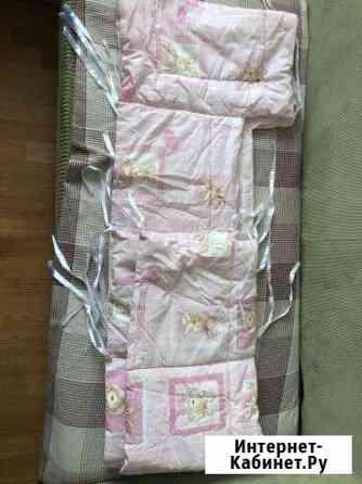 Бортики в детскую кроватку, стандарт Краснодар