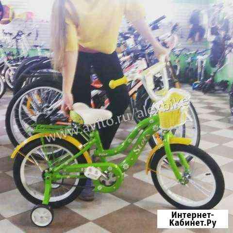 Детский велосипед stels Pilot 120 16 для девочки Санкт-Петербург