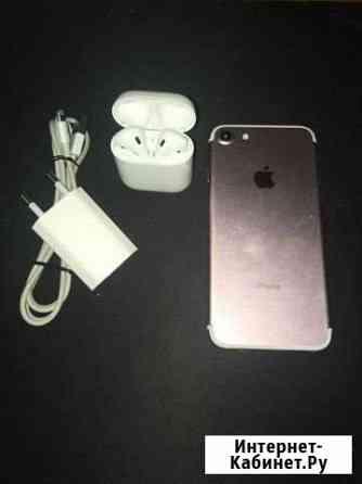 iPhone 7 rose gold 128GB AirPods В комплекте Новосибирск