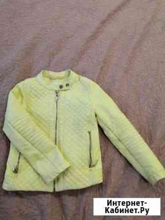 Кожаная куртка на девочку Новосибирск