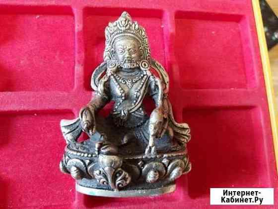 Старая статуэтка Будда в серебре Китай Волгоград