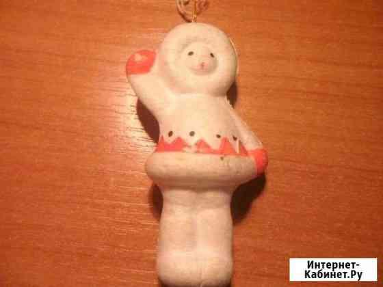 Елочная игрушка Чукча СССР Пенза