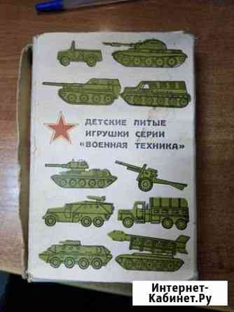 Модель солдатики. серия военная техника Киров