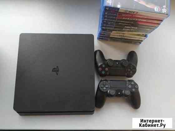 PlayStation 4 1TB +13 игр Норильск