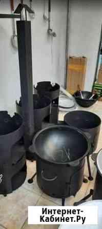 Печь под казан 10 литров с трубой Екатеринбург