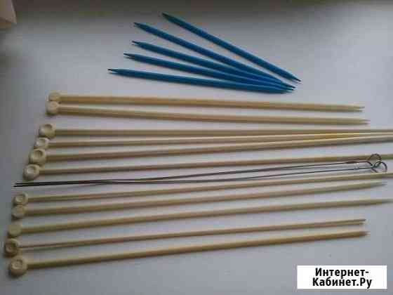 Спицы и крючки для вязания Тула