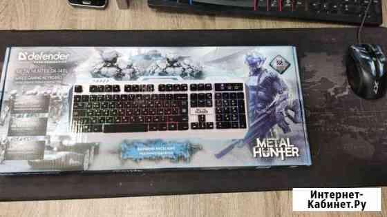 Проводная игровая клавиатура gk-140l RGB металл Калининград