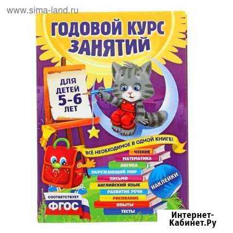 Годовой курс занятий для детей 5-6 лет Саранск