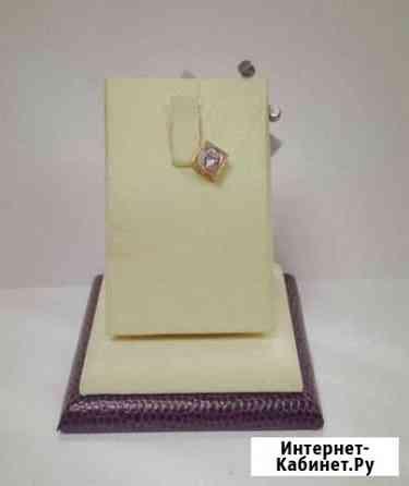 Подвеска золото 585пр 0,6гр с бриллиантом (6212) Рязань