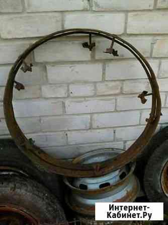 Железный обод от колеса телеги старинный,обруч Великий Новгород