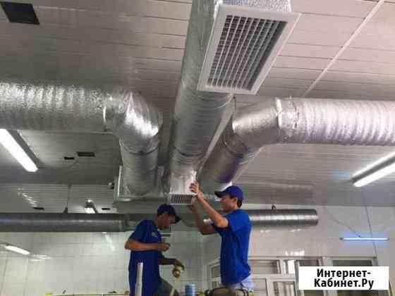 Монтаж вентиляции, вытяжных зонтов, вытяжки Санкт-Петербург