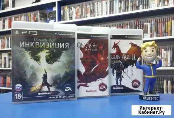Игры ps3 dragon AGE PS3 Санкт-Петербург