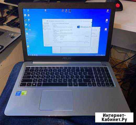 Ноутбук asus K501L i3/500 GB SSD/8 GB RAM Красногорск