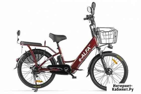 Электровелосипед green city e-alfa new 24 Белгород