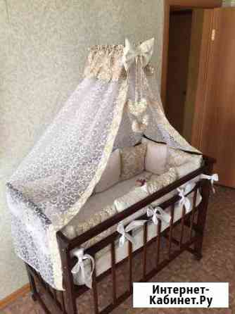 Комплект в кроватку новый на заказ Челябинск