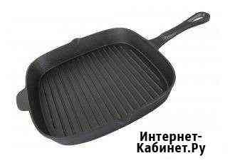 Сковорода-гриль чугунная Чебоксары