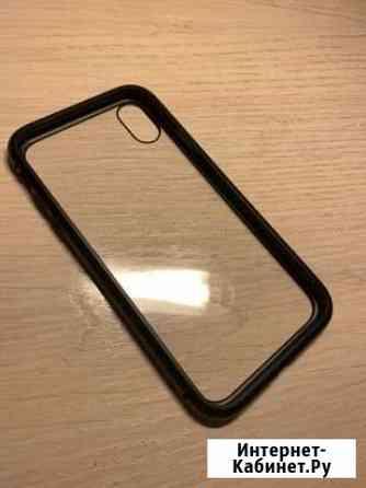 Прозрачный ударостойкий чехол для iPhone XR Барнаул