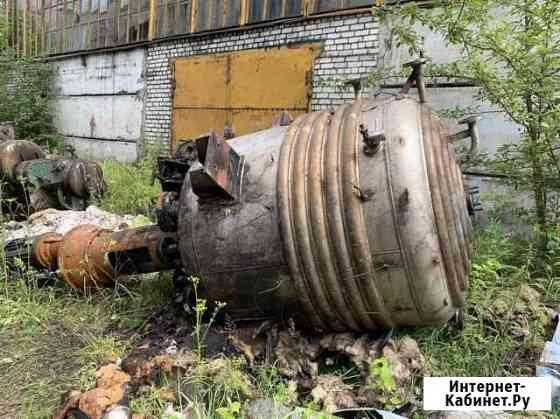Аппарат (реактор) объёмом 2.5 м3 нж Уфа