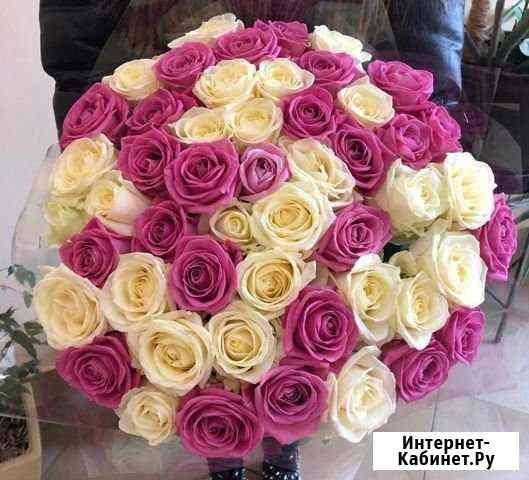 51 роза, Букеты Цветы Розы 25 101 151 201 Доставка Москва