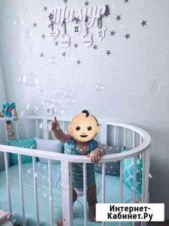 Детская кровать-трансформер 6 в 1 Томск