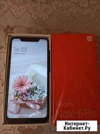 Телефон Xiaomi redmi note 6 pro Строитель