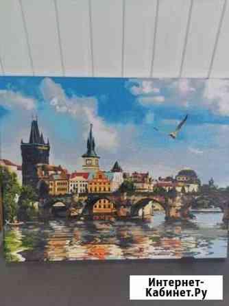 Картина Карлов мост Владикавказ