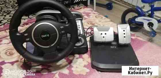 Игровой руль с педалями Чита
