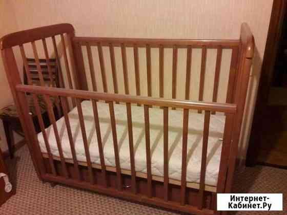 Кровать детская с матрасом Саратов