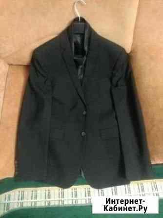Классический чёрный костюм с галстуком Чебоксары