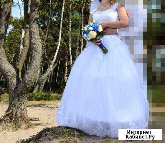Платье свадебное Калининград