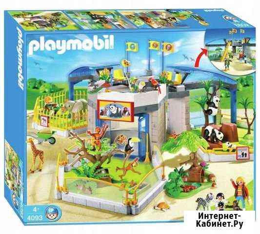 Playmobil 4093 Зоопарк для зверят Москва