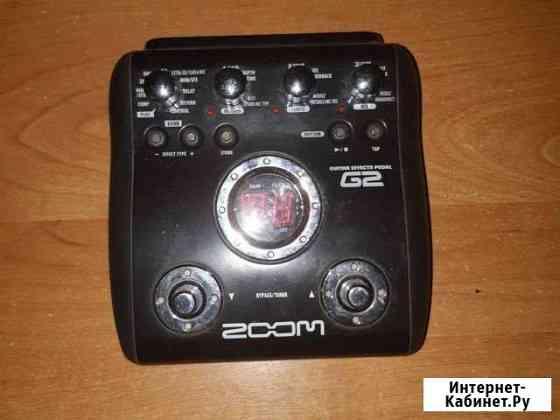 Гитарный процессор Zoom G2 Благовещенск