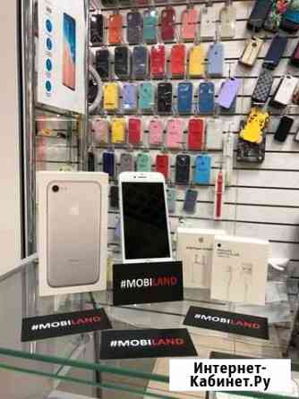 iPhone 7 32гб Серебро не восстановленный Б/У Липецк