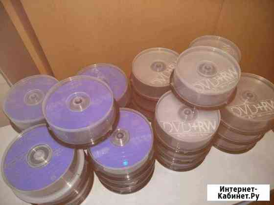 Диски Dvd+rw 4.7gb Fujifilm и Philips Москва