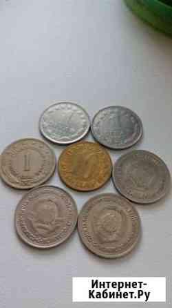 Монеты Югославии и Испании Лениногорск